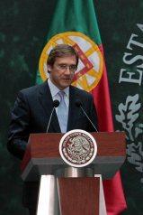 RECIBE PAÑA NIETO A MINISTRO DE PORTUGAL