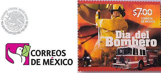 Reconoce correos de m xico al heroico cuerpo de bomberos for Noticias del espectaculo mexicano del dia de hoy