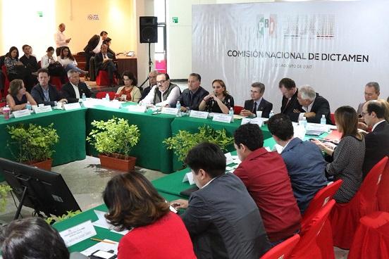 Comisión aprueba dictámenes de mesas temáticas para Asamblea del PRI ...